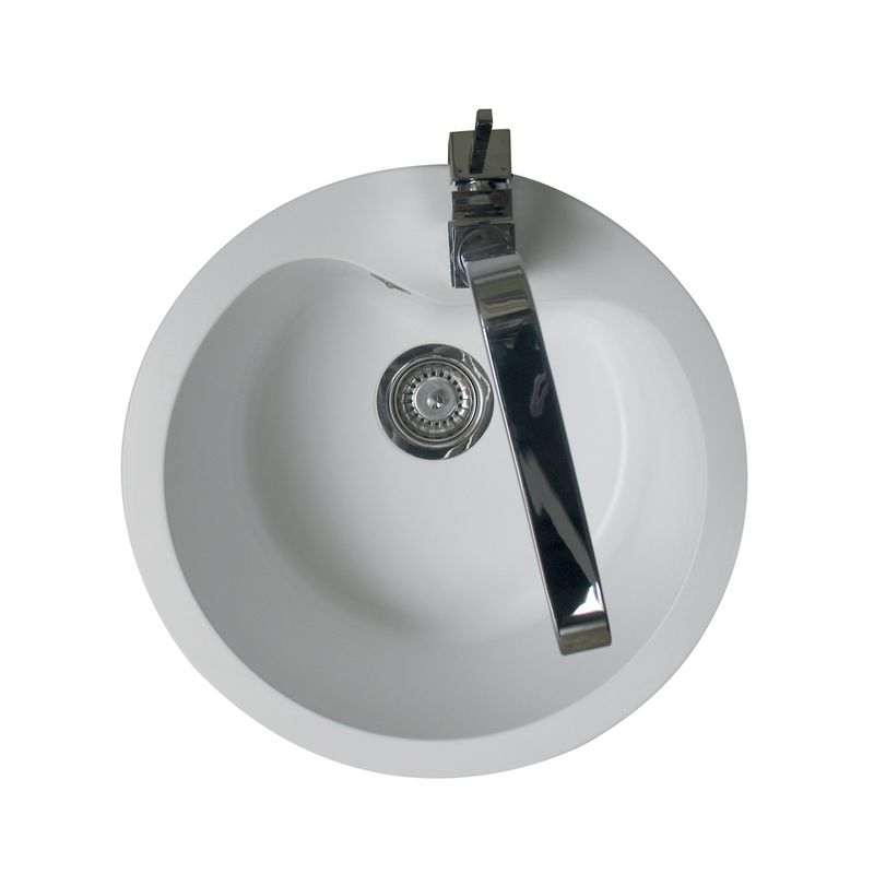 Evier cuisine rond with evier cuisine rond for Evier rond cuisine