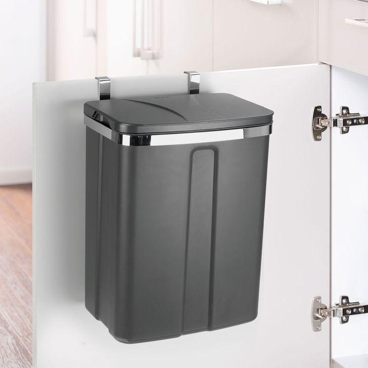 Poubelle de cuisine encastrable WENKO LUG - 12 litres