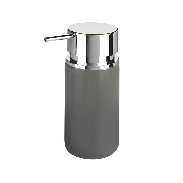 Distributeur de savon WENKO SILO gris