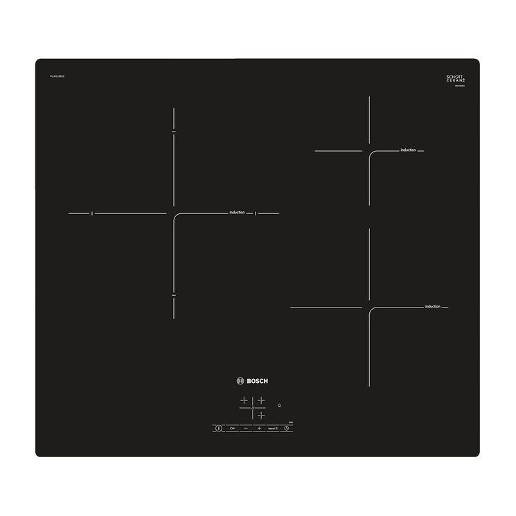 Plaque induction noir Bosch PUJ611BB1E