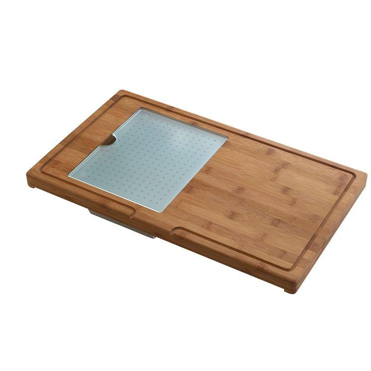 Planche à découper en Bambou avec accessoires CACPL002