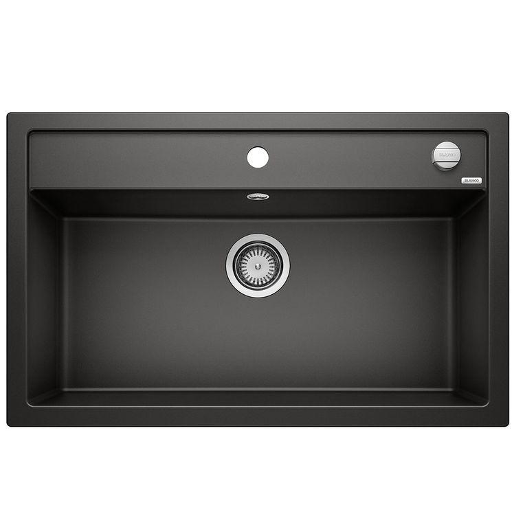 Evier granit noir BLANCO DALAGO 8 1 grand bac