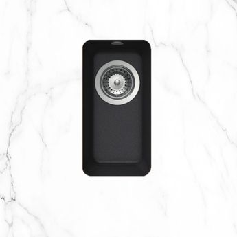 Évier sous plan granit noir MALT 1 bac 378x215