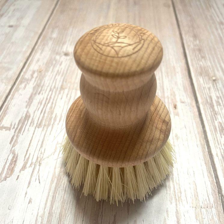 Petite brosse vaisselle bois écologique