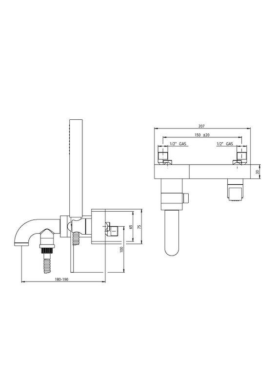 Vente mitigeur bain douche robinetterie aqua pour la for Robinetterie salle de bain douche