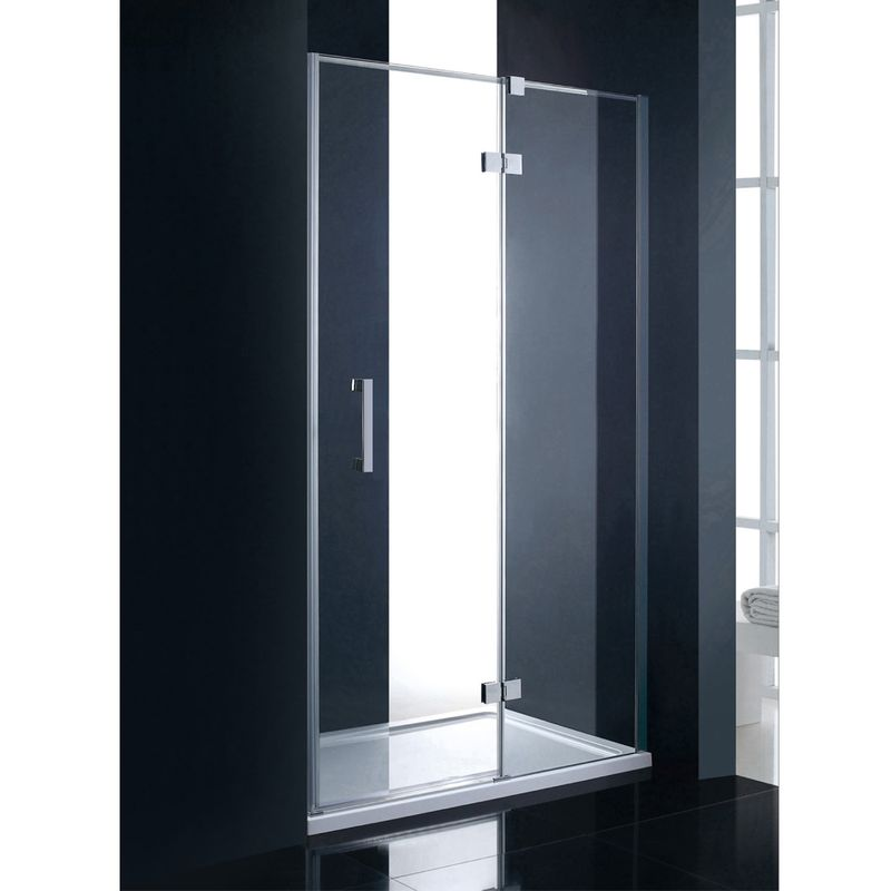 porte de douche pivotante botine pour la salle de bains verre 8 mm. Black Bedroom Furniture Sets. Home Design Ideas